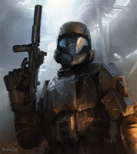 Gamis Roorie 1 the rookie concept art halo3 odst jpg