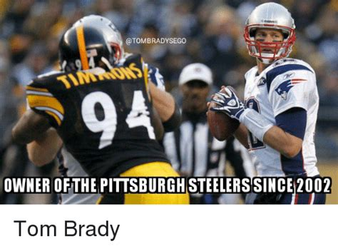 Pittsburgh Steelers Memes - tom brady steelers meme pictures to pin on pinterest