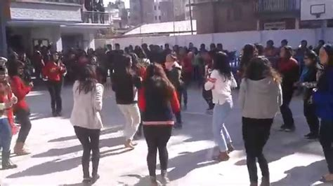 thames international college nugegoda flash mob rose day thames international college youtube