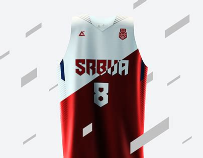jersey design basketball 2015 red 2015 serbia basketball uniforms on behance