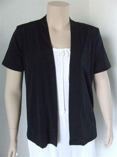 travel knits clothing travel knit drape jacket polyester slv new