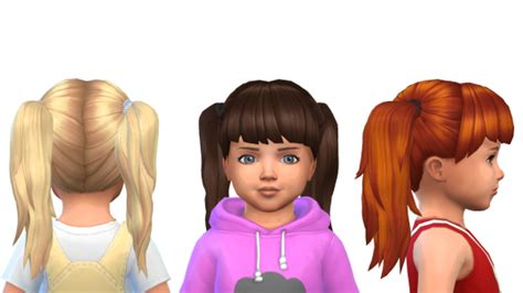 sims 4 toddler cc download sfs sims 4 cc pinterest toddler hair and sims