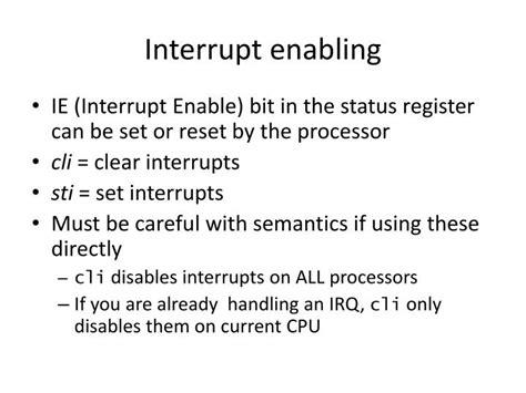 linux tutorial powerpoint presentation ppt tutorial 3 linux interrupt handling powerpoint