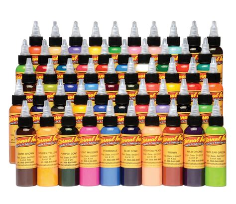 eternal ink tattoo eternal 50 color ink set joker supply