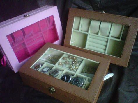 Set Tas Handy Ribbon 3in1 kotak jam tangan mix tempat perhiasan 3in1 boxes jogja
