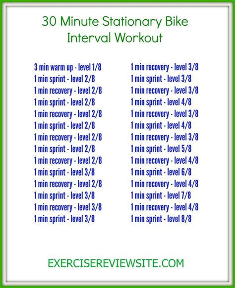 16 best exercise bike workouts images on