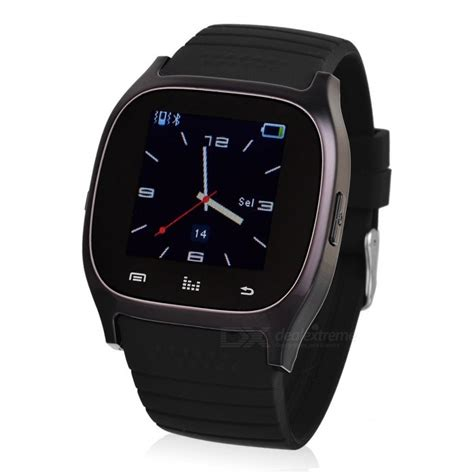 Smartwatch M26 m26 bt smart w phone call player for ios android black free shipping dealextreme