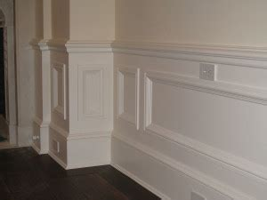 Raised Wood Panels Wainscoting Raised Panel Wainscoting Alliance Cabinets Millwork