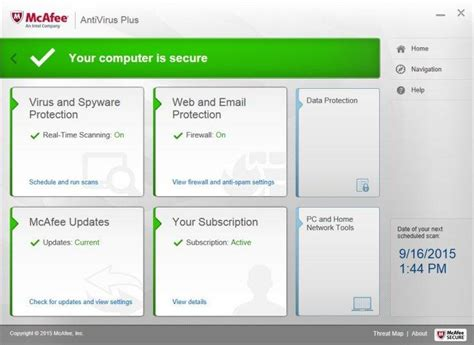 mcafee antivirus plus 2016 review rating pcmag