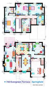 the simpsons house floor plan floor plan of 742 evergreen terrace springfield the home of the simpsons thesimpsons