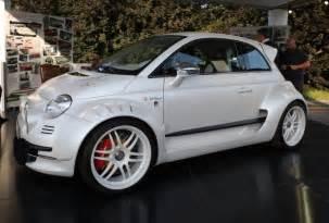 Fiat 500 Giannini Fiat 500 Giannini Il Cinquino Con 350 Cv A Parco