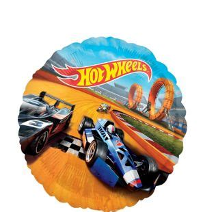 Hot Wheels Balloon 17in - Party City Luau Food Ideas For Party