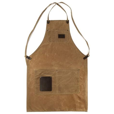 winston apron brush brown red clouds collective