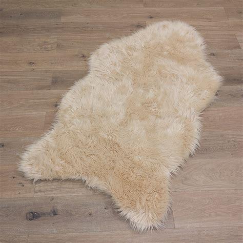 Sheepskin Carpet Rug Fluffy Sheep Skin Carpet Mat Imitation Rugs