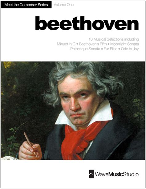 biography beethoven beethoven meet the composer series piano book vol 1