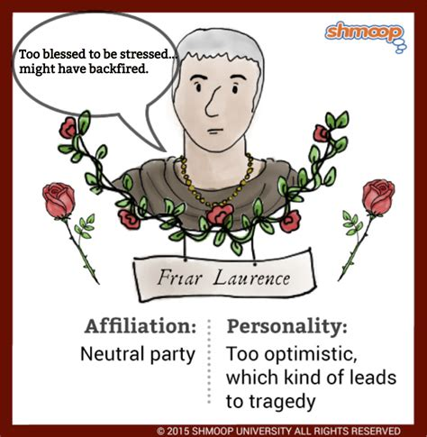 themes of romeo and juliet shmoop friar laurence in romeo and juliet chart