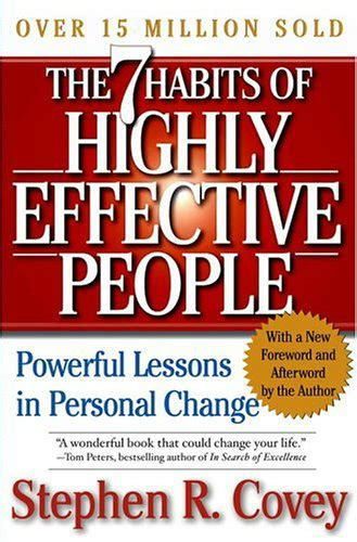 the 7 habits of 0762408332 the 7 habits of highly effective people powerful lessons in personal change business book