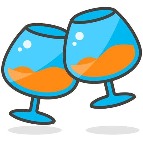 imagenes en png de emojis icono tostadas fiesta beber gratis de another emoji icon set