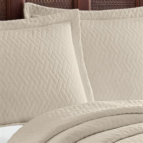 Solid Quilts Bahama Solid Dune Quilt Set From Beddingstlye