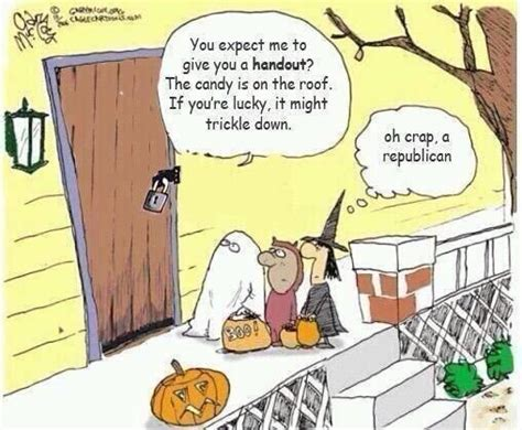 Republican Halloween Meme - shmoo report on twitter quot trickle down candy http t co
