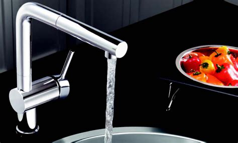 Kwc Ava Kitchen Faucet by Sleek Amp Square Kitchen Faucets Abode