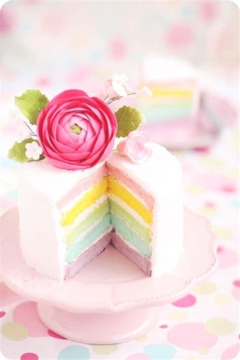 Hk 6003 Layer Flower pastel rainbow layer cake evan s kitchen ramblings