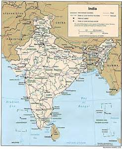 map of for india maps