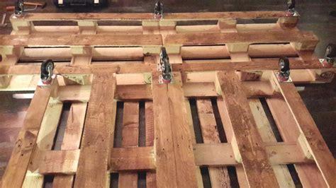 pedane pallet letto pedane di legno