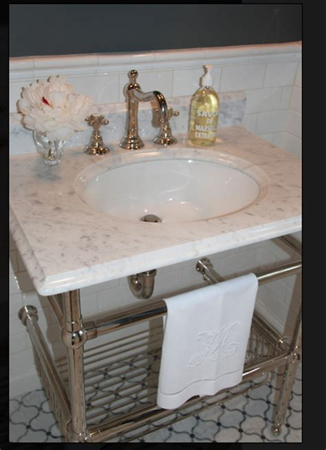 console sink with chrome legs sink console marble top chrome legs