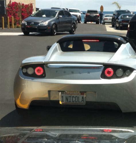 Vanity Plates by Tesla Vanity Plate Neatorama