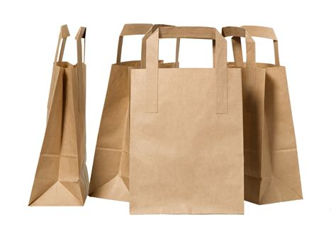Paper Bags From Newspaper - brown kraft paper bags pecpac
