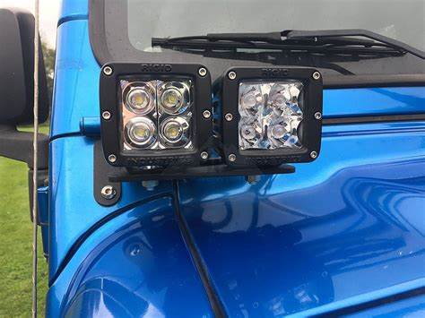 Led Lights For Jeep Wrangler Tj 97 06 Jeep Tj Led Light Windshield A Pillar Dual Light