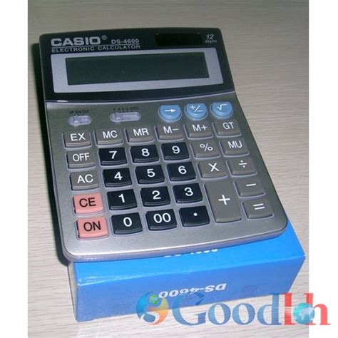 Jual Jenis Kalkulator by Kalkulator Casio 12 Digit Ds 4600