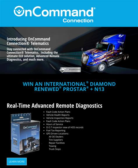 Sweepstakes Landing Page - navistar connected services sweepstakes landing page sparkfactor