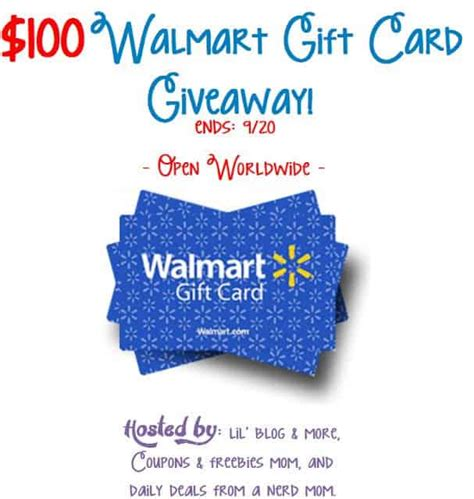 Walmart Giveaway - walmart gift card giveaway event work money fun