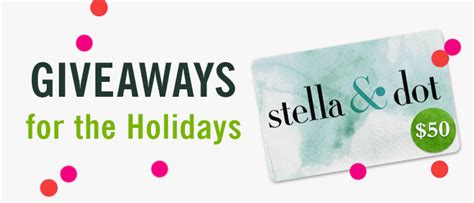 Stella And Dot Gift Card - giveaway 50 gift card to stella dot annie johnson design love life
