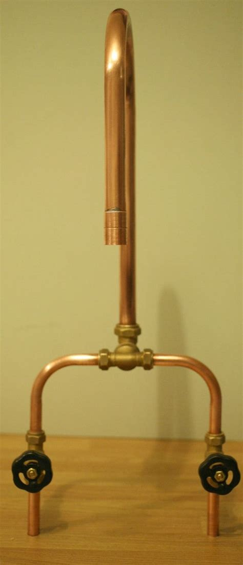 copper bathroom taps industrial copper taps great for the kitchen utility or