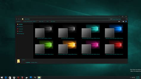 download computer themes for windows 10 windows 10 black edition theme lastest haxzone