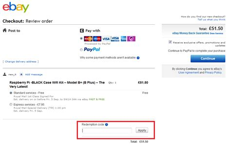 discount voucher on ebay coupon ebay paypal