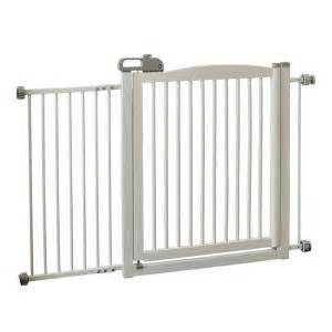home depot pet gates richell adjustable wide wood one touch pet gate 150 in