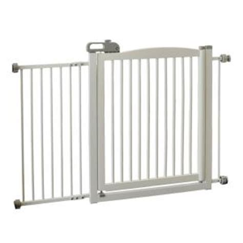 richell adjustable wide wood one touch pet gate 150 in