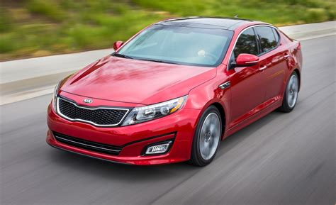 2014 Kia Optima Ex Turbo Car And Driver