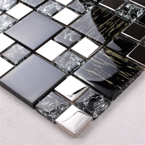 metallic tiles backsplash wholesale metallic backsplash tiles silver 304 stainless