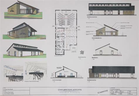 free church floor plans new build appeal fortrosefreechurchofscotland