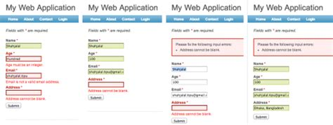 yii tutorial validation rules client side form validation with yii framework