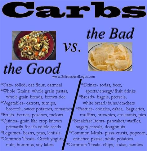 list of carbohydrates 13 best images about vs bad carbs foods on