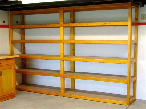 garage shelving designs ideas organize the garage shelf plans do it yourself