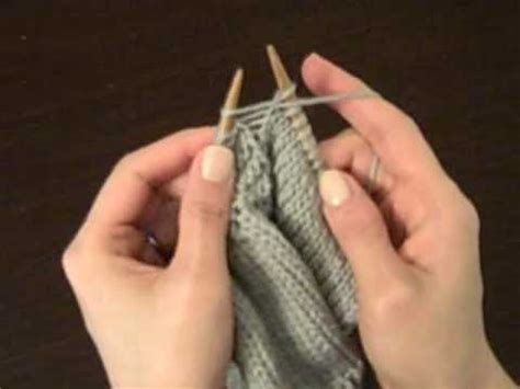 how to m1p in knitting make one purl m1p doovi