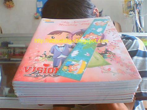 Sidu Buku Tulis 58 Lembar Minion buku tulis vision 58 lembar atk alat tulis dan kantor