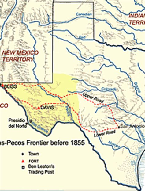 pecos river texas map fort davis gt trails of the trans pecos